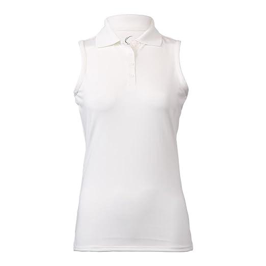 9438b012 Cruise Control - Women Sleeveless Collared Polo - White at Amazon Women's  Clothing store: Athletic Shirts