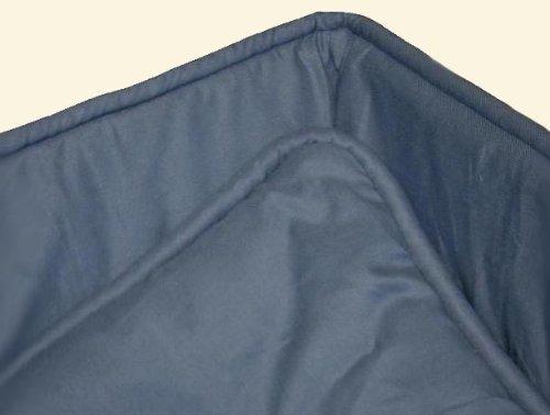 Portable / mini crib set - Wedgewood Blue Portable / Mini Crib Set - Made In USA