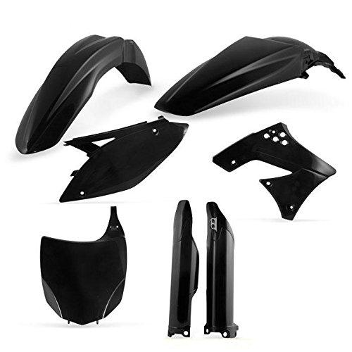 Acerbis Black Full Plastic Kit for Kawasaki 2009-11 KX450F - One (Acerbis Plastic Kits)