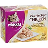 Whiskas Purrfectly Chicken Cat Variety Pack, My Pet Supplies