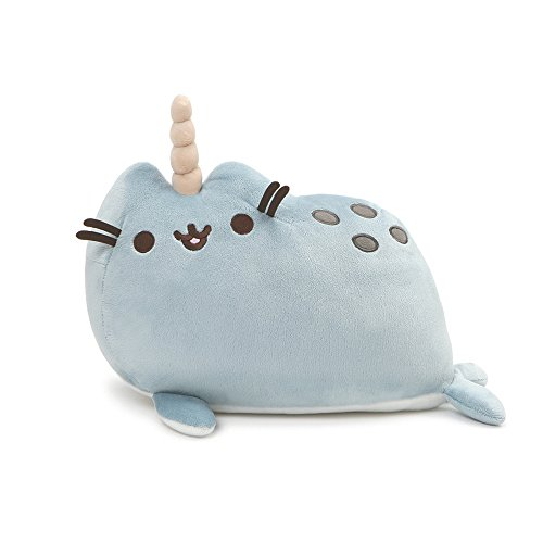 GUND Pusheen Pusheenimal Narwhal Plush Stuffed Animal, Blue, 13