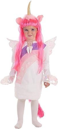 Disfraz de Unicornio con Alas para niña: Amazon.es: Juguetes y ...