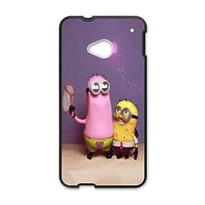 Sponge Bob Wallpaper HTC One M7 Cell Phone Case Black phone component AU_537144