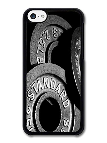 Gym Motivational Lifting Dead Lift Weights Barbell case for iPhone 5C