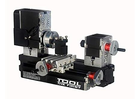 New! 60W 12000 rpm Big Power Mini Metal Lathe B TZ20002MG, DIY Tools