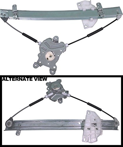 Mitsubishi Mirage 4 Door (APDTY 851042 Power Window Regulator Without Motor Fits Front Right 1997-2001 Mitsubishi Mirage 4-Door Sedan (Passenger Side; Replaces MR200310))