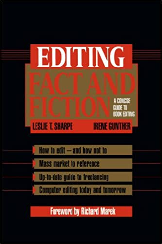 Editing Fact and Fiction: Leslie Sharpe, Richard Marek
