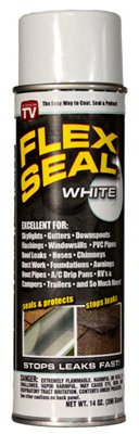 Flex Seal Colors, 14-Ounce As Seen on TV Liquid Rubber Sealant in a Can