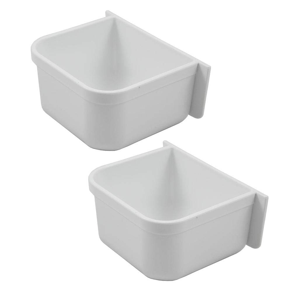 A&H Tool & Die Parrot Cage Replacement Food and Water Cup (Two Pack) by A&H Tool & Die