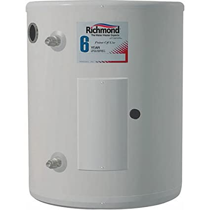 Rheem Richmond 6ep10 1 2000 W 120 Vac Tank Richmond Electric