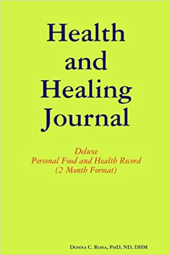 health and healing journal deluxe personal food and health record