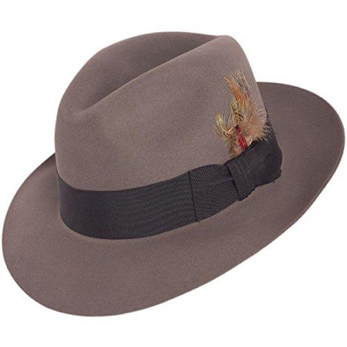 (Stetson Men's Pinnacle Excellent Quality Fur Felt Hat, Caribou, 7.5)