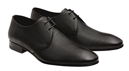 Chaussures à coupe homme classique Noir Wilvorst et lacets d4q5dzw