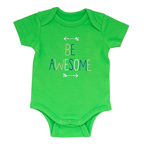 [About Face Design 100% Cotton Baby Onesie (3-6 Months, Be Awesome)] (Police Chief Child Hat)