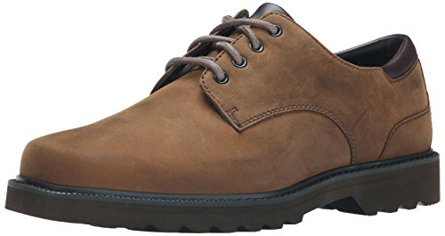 Leather Shoes Men Casual (Rockport Men's Northfield Oxford-Espresso Nubuck-12  M)