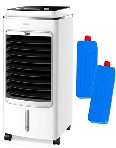MYLEK Portable Air Cooler for Home, Mobile, 3 Speeds, Cooling Humidifier &...
