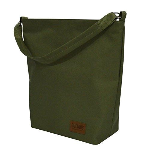 C-bags Bolso De Bags Shopper Bag Classic Portaequipajes–c, Verde Oliva Verde Oliva