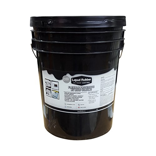 Liquid Rubber RV Roof Coating White - 5 Gallon