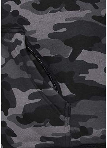M-3XL Schulter- Motorrad-Hoodie Ellbogenprotektoren FLM Hoodie Sweatshirt Sweatjacke Kapuzenpullover Hoodie mit Protektoren elastische /Ärmelb/ündchen und Jackensaum Einschubtaschen