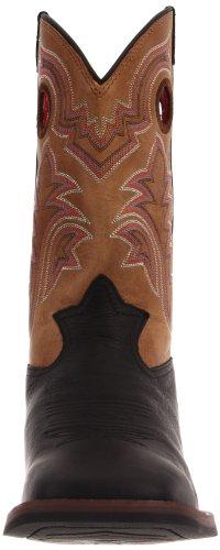 Tony Lama Boots Heren Rr1107 Laars Zwarte Mustang / Tan Yukon