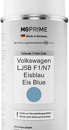 Mg Prime Autolack Sprühdosen Set Für Volkswagen Vw Lj5b F1 N7 Eisblau Eis Blue Basislack Klarlack Spraydose 400ml Auto