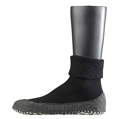 Falke 16560 Cosyshoe Socke - Calcetines cortos para hombre negro