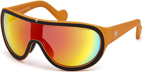 Sunglasses Moncler ML 0047 Hidden Peak 05C black/other / smoke - Mens Moncler Sunglasses