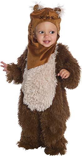 Star Wars Classic Ewok Deluxe Plush Costume Romper, Toddler]()