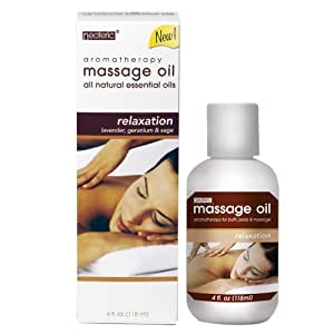 Neoteric Massage Oil Relaxation, 4 Fluid Ounce