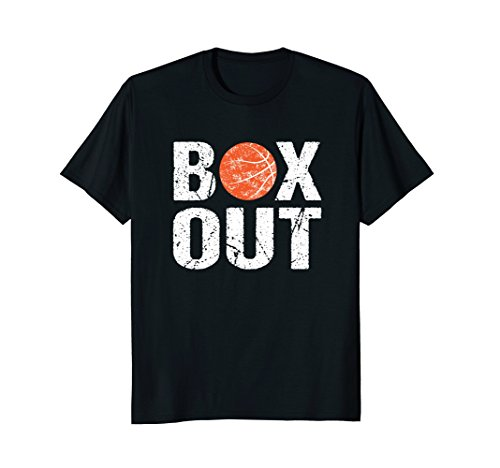 Basketball Coach Tshirt Box Out Saying Novelty Shirt Gift