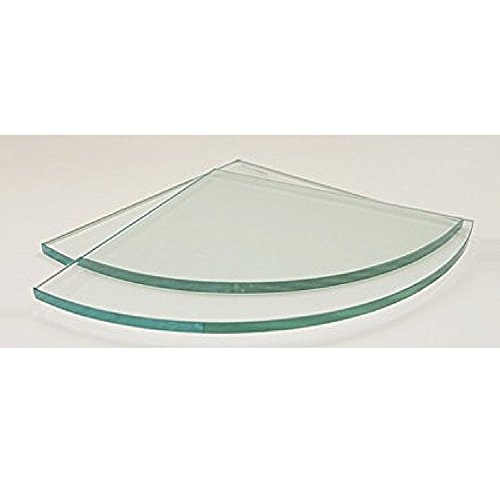 Compare Price Round Glass Shelves On Statementsltd Com
