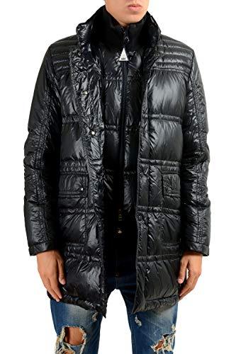 Moncler Ernest Men's Blue Down Insulated Parka Jacket Coat Moncler Sz 3 US M