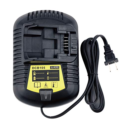 Qbmel 12V-20V Battery Charger for Dewalt Lithium-ion Battery