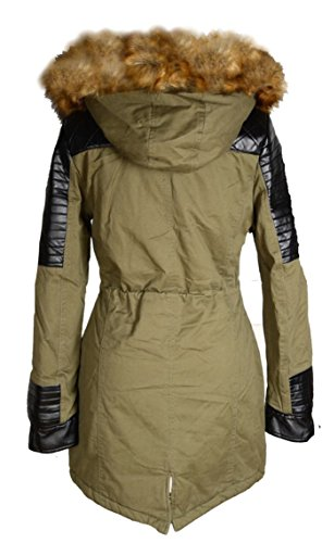 Donna mujer para Parka Italy Chaqueta Fx1AFdY