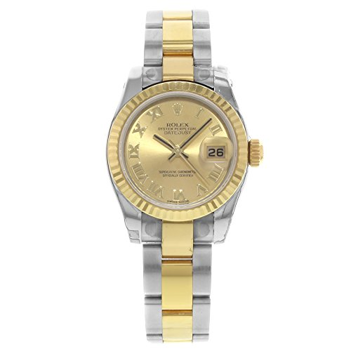 Rolex Datejust automatic-self-wind womens Watch 179173 (Certified Pre-owned)