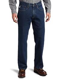 Men's Relaxed Straight Denim Five Pocket Jean B460