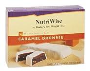 NutriWise - Caramel Brownie Diet Protein Bars (7 bars)