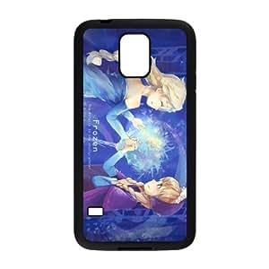ZXCV Frozen Princess Elsa and Anna Cell Phone Case for Samsung Galaxy S5