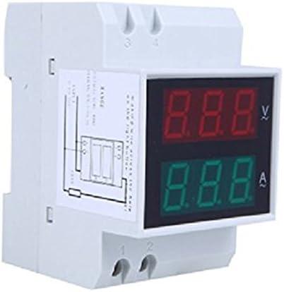 KKmoon AC80-300V 100 a multifonctionnel num/é rique Din Rail courant tension puissance facteur compteur Amp/è rem/è tre Voltm/è tre