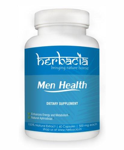 Мужчины Формула здоровья Herbaicia в Стимулирует Либидо High Energy Natural Performance Enhancer дополнения для мужчин 500 мг 60 капсул