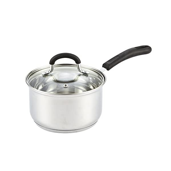 Cook N Home 10-Piece Stainless Steel Cookware Set 4