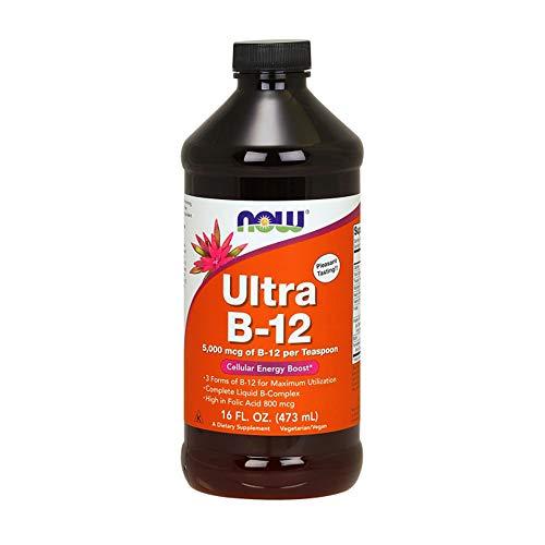 (NOW Ultra B-12 Liquid, 16-Ounces)
