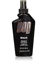 Parfums De Coeur Bod Man Black Fragrance Body Spray for Men, 8 Ounce