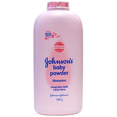 J & J Baby Powder 500g Blossom , Case of 48