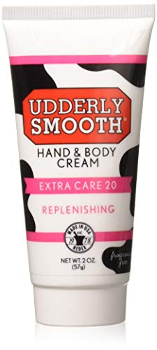 Udderly Smooth Hand & Body, Extra Care 20 Cream 2 oz (Pack of 2) ()