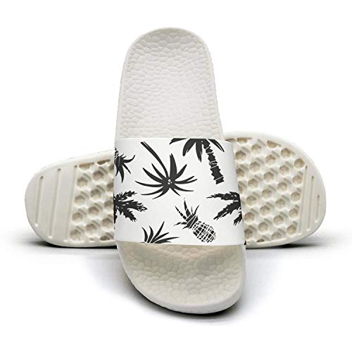 Pineapple Slippers Pineapple Drawn Hand Women's Tree Fashion Palm Casual Sandals Sq5ZSzYw