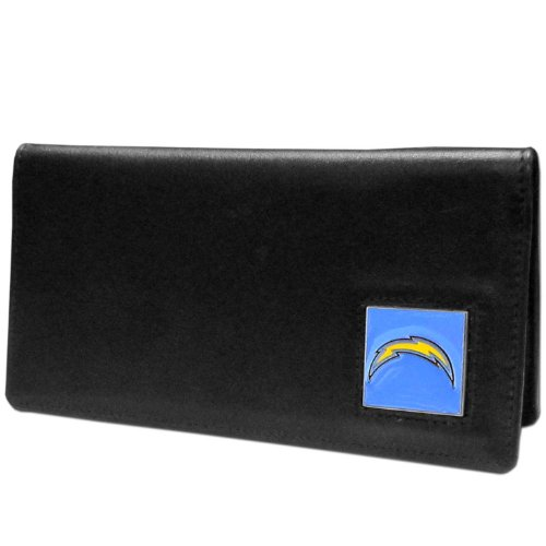 NFL San Diego Chargers Leather Checkbook - Diego San Football Chargers Leather