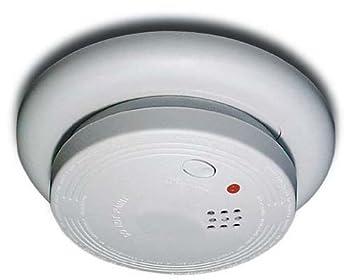 USI Smoke Fire Alarm Model USI-1213 Wired-in 120 Volt Ion Alarm