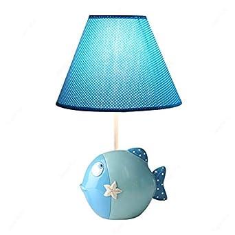 Lámparas de mesa de pescado de dibujos animados Accesorios de luz ...