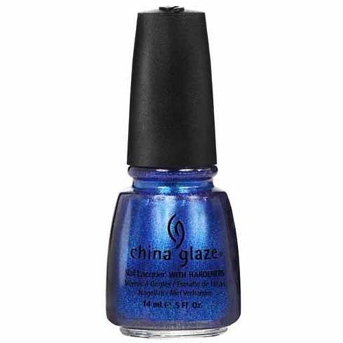 Amazon.com : China Glaze Nail Polish, Blue Iguana, 0.5